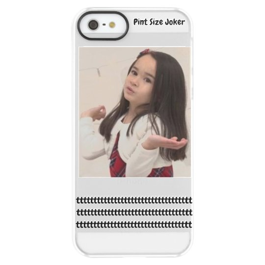 Pint Size Joker: Take Care Of My Allowance Permafrost® iPhone SE/5/5s Case