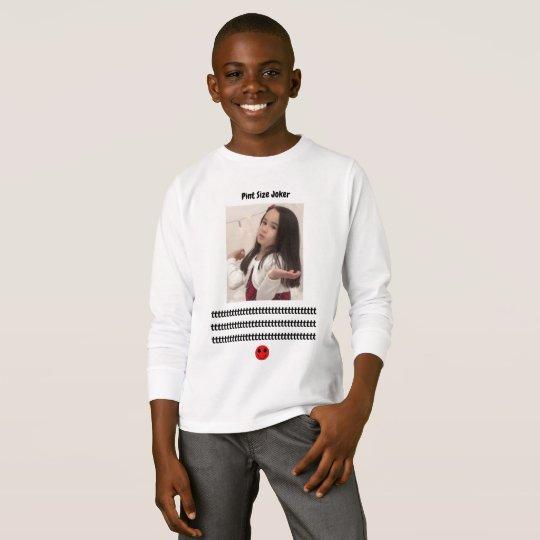 Pint Size Joker: Take Care Of My Allowance T-Shirt