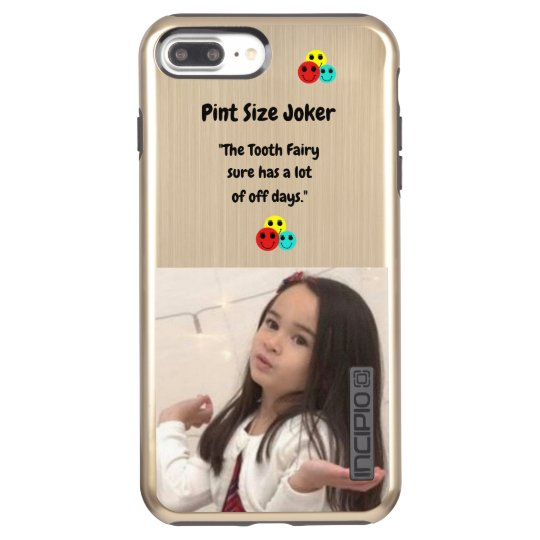 Pint Size Joker: Tooth Fairy And Off Days Incipio DualPro Shine iPhone 8 Plus/7 Plus Case