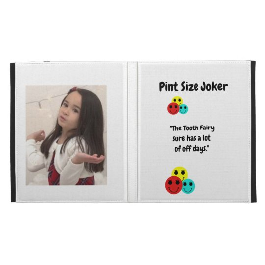 Pint Size Joker: Tooth Fairy And Off Days iPad Folio Cover