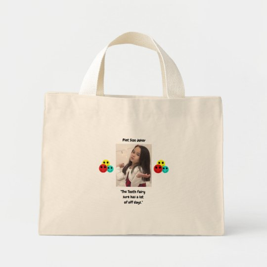 Pint Size Joker: Tooth Fairy And Off Days Mini Tote Bag