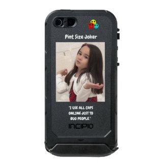 Pint Size Joker: Use All Caps To Bug People Incipio ATLAS ID™ iPhone 5 Case