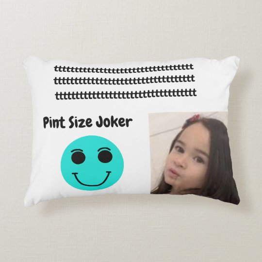 Pint Size Joker: Young And Wise Accent Pillow