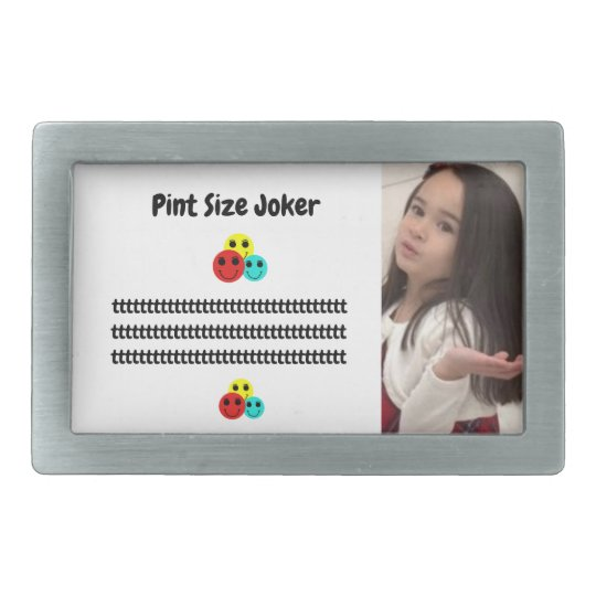 Pint Size Joker: Young And Wise Belt Buckle