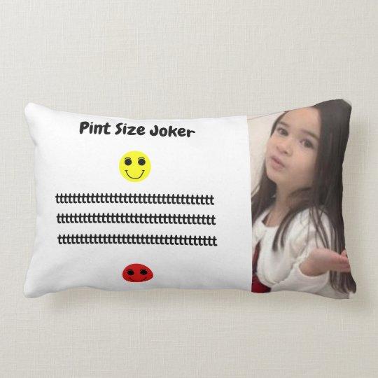 Pint Size Joker: Young And Wise Lumbar Pillow