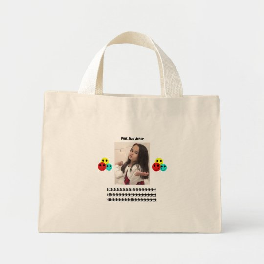 Pint Size Joker: Young And Wise Mini Tote Bag