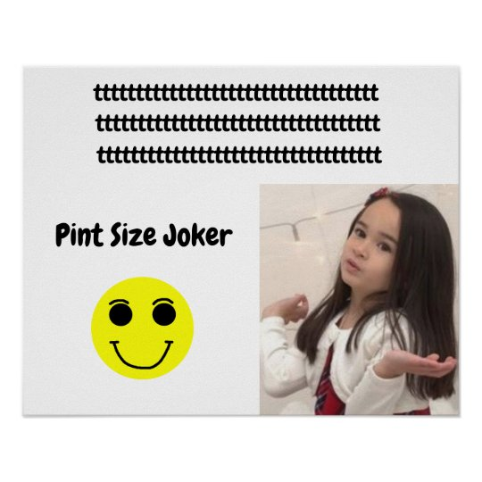 Pint Size Joker: Young And Wise Poster