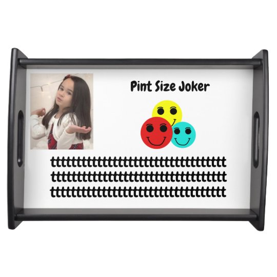 Pint Size Joker: Young And Wise Serving Tray