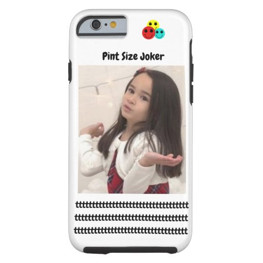 Pint Size Joker: Young And Wise Tough iPhone 6 Case