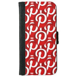 Pinterest Icon iPhone 6 Wallet Case