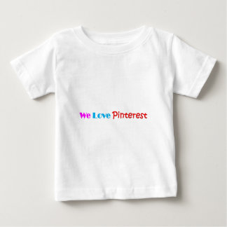Pinterest Item Fan Made Design Baby T-Shirt