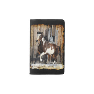 Pinto Horse On The Run Pocket Moleskine Notebook