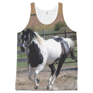 Pinto Paint Horse All-Over-Print Tank Top