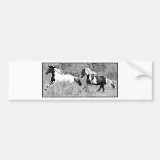 Pintos Galloping, Customizable Bumper Sticker