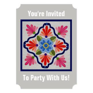 Pintura sobre el azúcar DOD Party Invitations