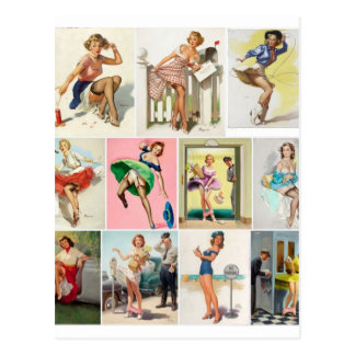 Pinup Collection Pin Up Art Postcard