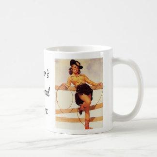 Pinup Cowgirl Coffee Mug