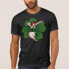 Pinup Girl Shirt Lucky Irish Pinup Shirts 5XL