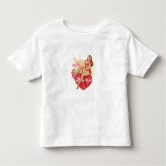Pinup Heart Toddler T-shirt