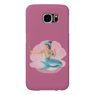 Pinup mermaid samsung galaxy s6 cases