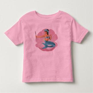 Pinup mermaid toddler t-shirt