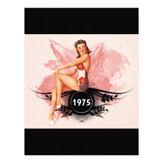 Pinup pink letterhead