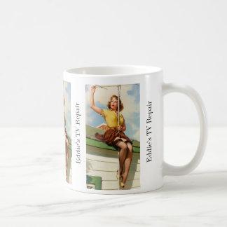 Pinup Roof Coffee Mug