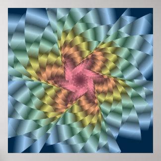 Pinwheel 4 poster