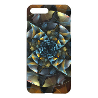 Pinwheel Abstract Art Glossy iPhone 7 Plus Case