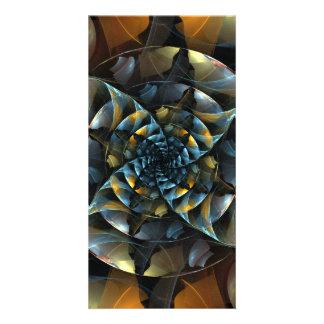 Pinwheel Abstract Art Photo Card