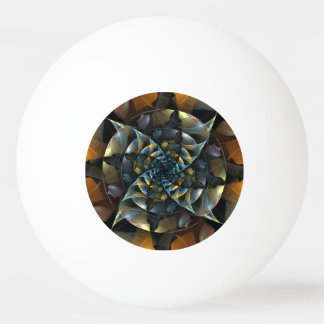 Pinwheel Abstract Art Ping Pong Ball