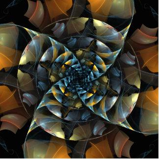 Pinwheel Abstract Art Standing Photo Sculpture
