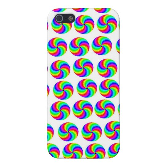 Pinwheel Cell Phone Case iPhone 5/5S Covers