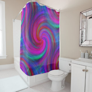 Pinwheel Dream Shower Curtain