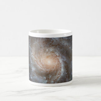 Pinwheel galaxy Hubble Telescope Outer Space Photo Coffee Mug