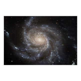 Pinwheel Galaxy M101 78x52 57x38 Poster