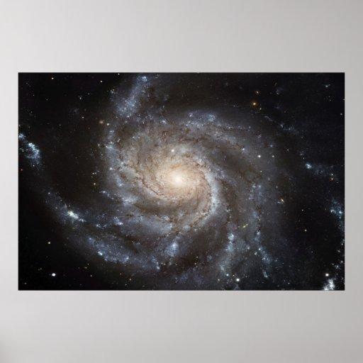 Pinwheel Galaxy M101 78x52 (57x38) Poster