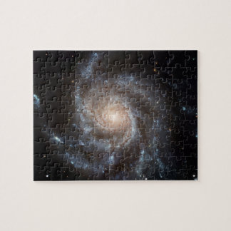 Pinwheel Galaxy NGC 5457 (M101) in Ursa Major Puzzle