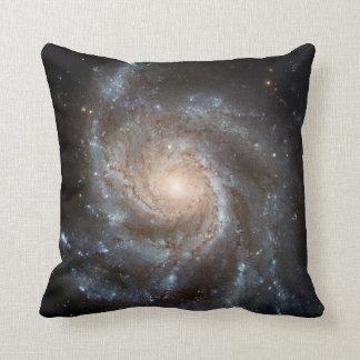 Pinwheel galaxy throw pillow