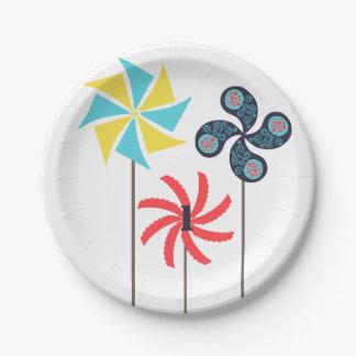 Pinwheel Paper Plate {Editable Age}
