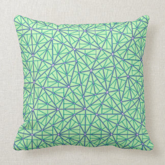 Pinwheel Tiling Throw Pillow (Aperiodic Tiling)
