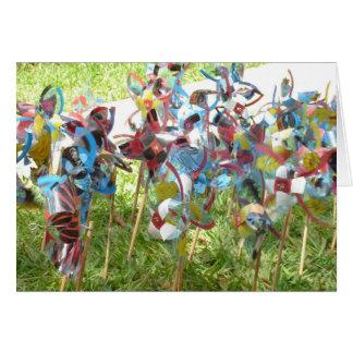 Pinwheels Card