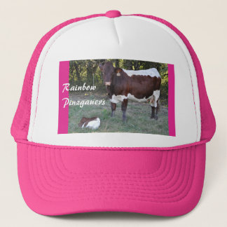 Pinzgauer Cow & Calf Women's Cap- personalize Trucker Hat