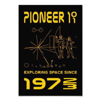 Pioneer 10 & 11 | Space 1972 & 1973 | gold Card