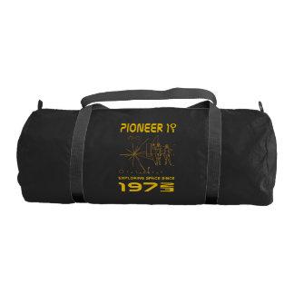 Pioneer 10 & 11 | Space 1972 & 1973 | gold Gym Bag