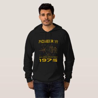 Pioneer 10 & 11   Space 1972 & 1973   gold Hoodie