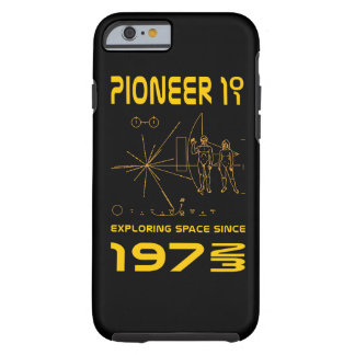 Pioneer 10 & 11 | Space 1972 & 1973 | gold Tough iPhone 6 Case