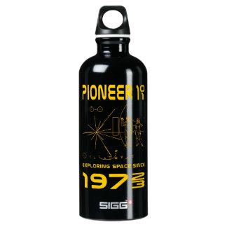 Pioneer 10 & 11 | Space 1972 & 1973 | gold Water Bottle