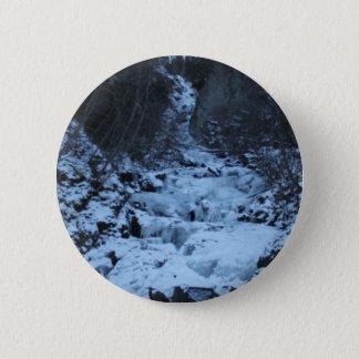 Pioneer Falls Butte Alaska 2 Inch Round Button