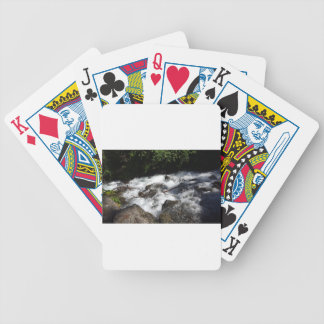 Pioneer Falls Butte Alaska Bicycle Playing Cards
